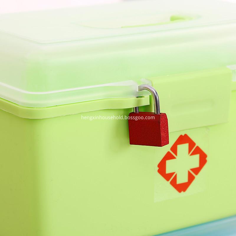 emergencty medical kit plastic