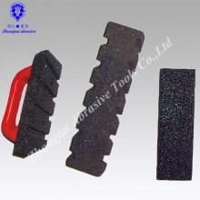 20*5*5cm high quality black carborundum square oil stone for cast iron,non-ferrous metal,rubber,leather,plastic,wood