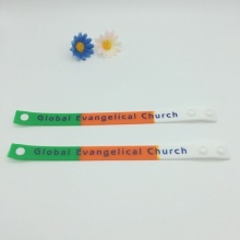 Adjustable Silicone Wristbands for Events