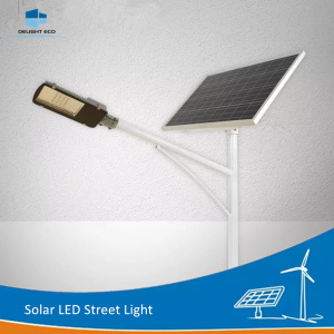 DELIGHT Solar Street Light With Built-In Battery