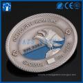 Custom Metal Code Geocaching Geocoin