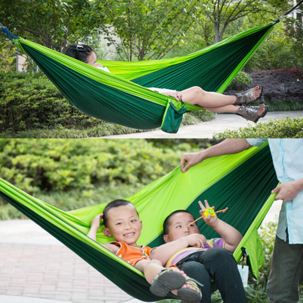 Portable Travel Parachute Hammock