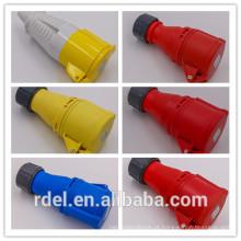 LP-02 16A-9H 200-250V 3P + E ACOPLADOR DE PLUGUE INDUSTRIAL IP44 CE