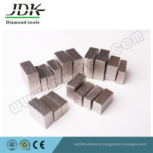 Grooved Type Diamond Segments for Cutting India Granite