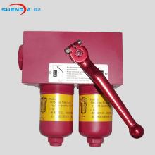 Conjunto de carcasa de filtro en línea de aceite dúplex