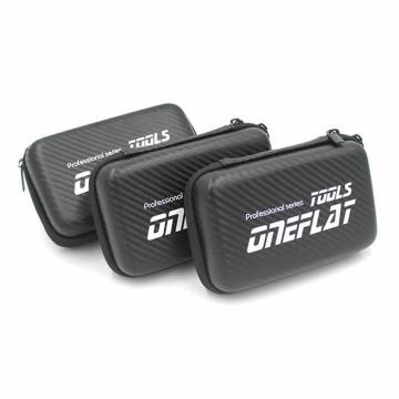 Portable hard carbon fiber storage case for HDD