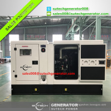 50 kw diesel generator set powered by Perkin engine 1104A-44TG1 and Stamford alternator