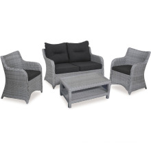 Patio Wicker Rattan Lounge Sofa Set Garden Outdoor Furniture