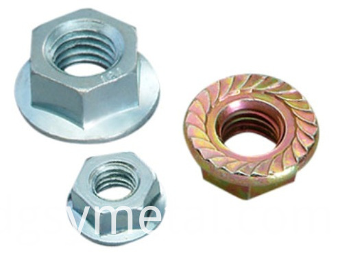Carbon steel flat nuts
