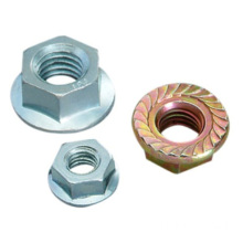 Industrial hardware Serrated Flange Nuts