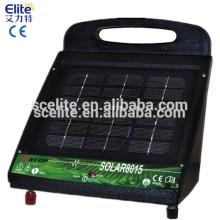 Cargador eléctrico solar solar máximo de la cerca del energizador de la cerca eléctrica solar