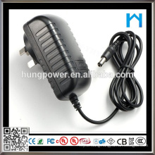 DC Output Type AC Power Adapter Charger 9v 2a 18w