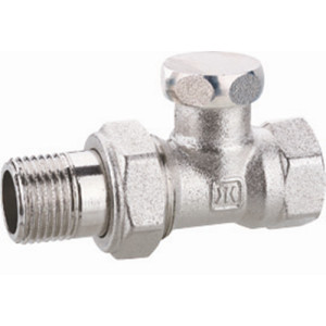 Brass Globe Backwater Valve with Nickel Plated