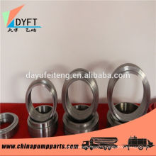 factory of pm dn125 concrete pump pipe with welded flanges and other spare parts
