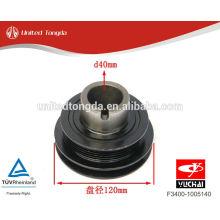Amortecedor da vibração do eixo de manivela do motor YC4F de YUCHAI F3400-1005140
