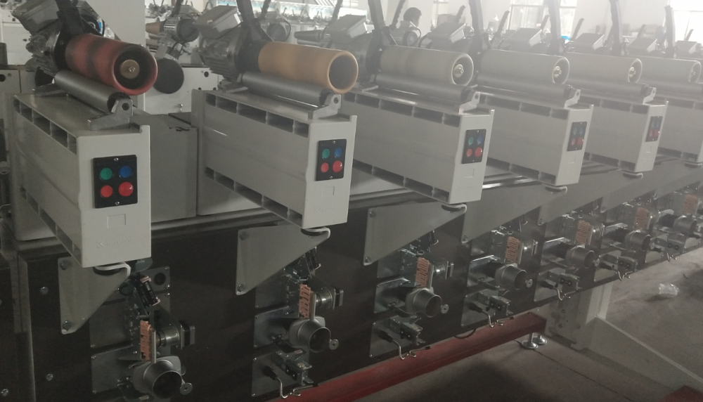 Benang Tekstil Bobbin Winding Machine