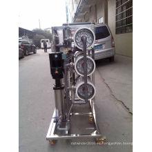 Sistema de RO industrial de la osmosis inversa del acero inoxidable para el tratamiento de agua