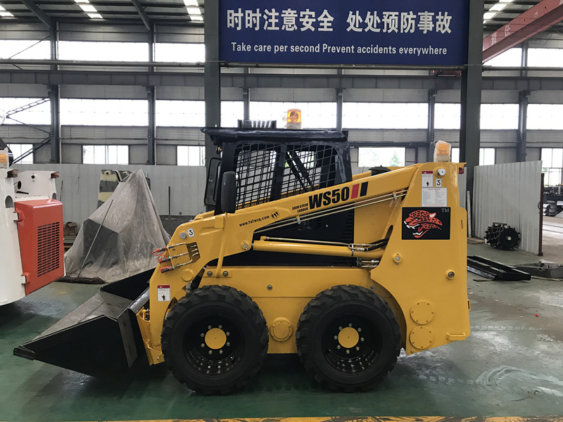 750kg Mini Skid Steer Loader for Sale