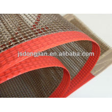 PTFE-coated high temperature Teflon conveyor dryer belt, non-stick, chemical-resistant