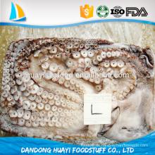 Blütenart gesperrt verpackt Vollständig gefrorene Krake Für heißen Verkauf
