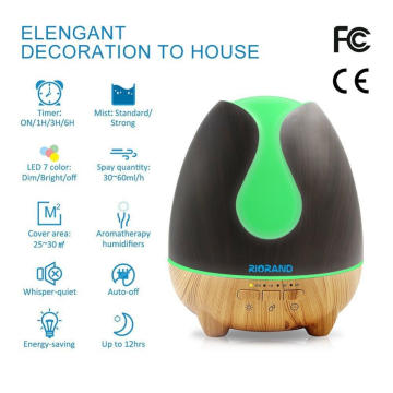 500ml Ultrasonic Cool Essential Oil Air Purifier Humidifiers