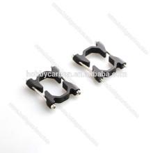 Connecteurs multirotor pinces en aluminium / clips pince carrée en fibre de carbone
