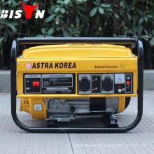 BISON China Taizhou Astra Corea generador de gasolina 2.0KW con motor de gasolina 168f