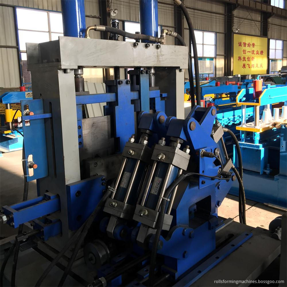 automatic C/Z purlin forming machine