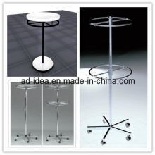 Diameter Round Matte Folding Rack with Round Tubing Rail
