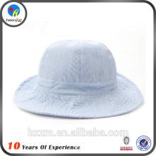 Outdoor plain bucket hats