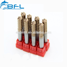 BFL 6-Nuten-Endfräser, Hartmetall 6-Nuten-Schlichtmühlen