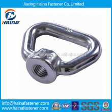 Customized stainless steel rectangular eye nut