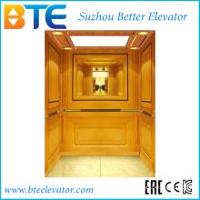 Mrl 1250kg Gold Decoration Passenger Lift with Ce