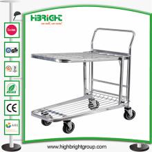 Supermercado Plataforma Almacén Cargo Trolley