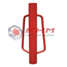 Cat Red T Post Pemandu Manual Logam