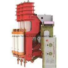 Fn12-12rd interior utiliza aparamenta de alta tensión de compresión de aire con fusible