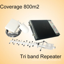 Multi-Band GSM Repeater 900 / Dcs 1800 / 4G Lte 2600MHz Mobile Signalverstärker Booster Signal Repeater
