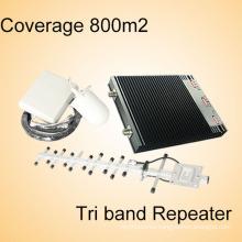 Repetidor del G / M de la Multi-Venda 900 / Dcs 1800 / 4G Repetidor de la señal del aumentador de presión del amplificador de la señal del Lte 2600MHz