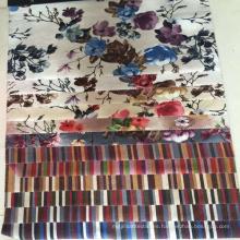 Fábrica Digital personalizado impreso muebles tapicería tela terciopelo