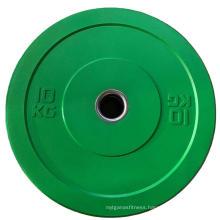 Gym Colorful Rubber Cheap Bumper Plate