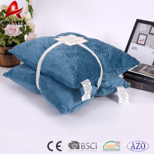 Atacado personalizado micromink moda decorativa sofá bordado almofada