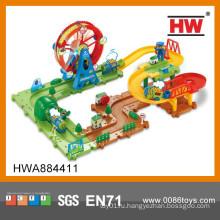 Новый дизайн 60PCS B / O колесо обозрения Park Puzzle головоломка трек игрушки