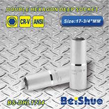 Double Hexagon Deep Socket - BS-DHL1734