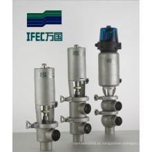 Válvula de corte sanitária de aço inoxidável (IFEC-PR100002)