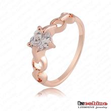 Coração Zircon Amor Gift Ring Atacado (RiC0008-A)
