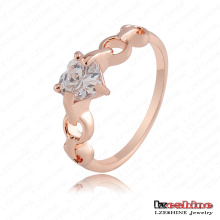 Кольцо подарка влюбленности сердца Zircon Wholesale (RiC0008-A)
