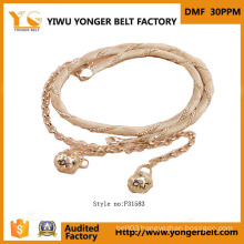 Hot Selling Fancy New Design Chain Belt Women