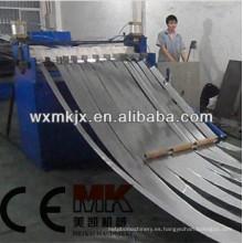 Cortadora de bobina cortada a la línea de longitud