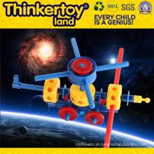 DIY brinquedo de educação de plástico para cultivar a criatividade do miúdo