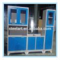 Armoire en acier avec poignée de porte d'armoire de cuisine en acier inoxydable